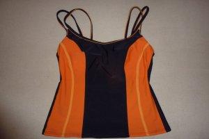keine Tankini orange fluo-noir polyamide