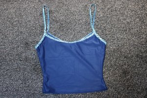 Tankini azul oscuro poliamida