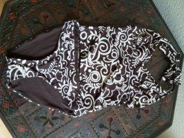 Tchibo / TCM Tankini marrón oscuro-beige claro