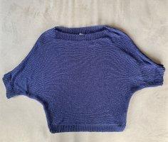 Tantra Sweater met korte mouwen blauw-donkerblauw