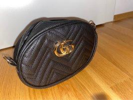 Gucci Riñonera negro-color bronce