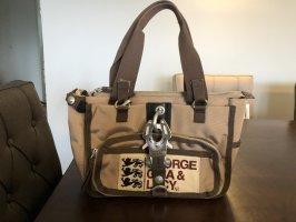 George Gina & Lucy Handbag dark brown-light brown