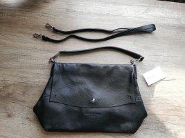 Tasche aus Leder Maison Heritage Paris, schwarz