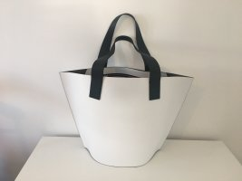 Coccinelle Shopper white-black