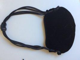 Tasche aus Samt mit Leder von Emporio Armani