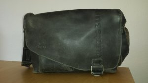 aunts & uncles College Bag taupe-grey brown