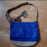 Tasche blau Neu mit Trägergurt