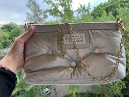 Tasche Blogger Style Silber clutch mit Kette