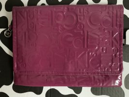 Calvin Klein Jeans Clutch violet leather