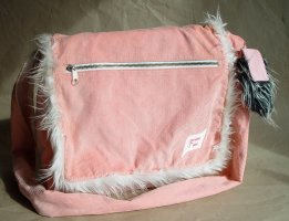 College Bag light pink-white cotton