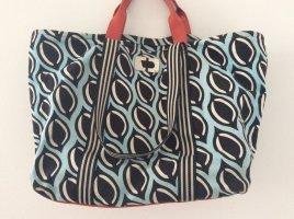 Diane von Furstenberg Sac Baril multicolore coton