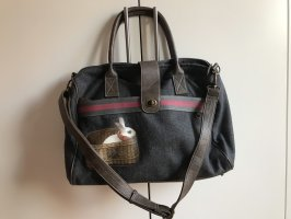 Nice Things Handbag dark grey