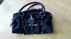 George Gina & Lucy Handbag dark violet-black