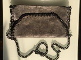 Borse in Pelle Italy Sac à main gris cuir