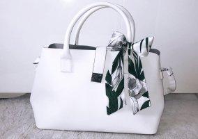 Tasche Handtasche bag shopper schultertasche weiß grün