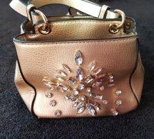 Tasche in goldfarben mit Glitzersteine, von Zara,NEU