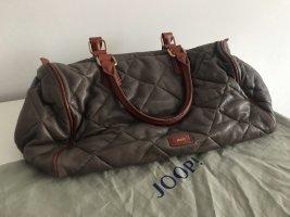 Joop! Bowling Bag grey-cognac-coloured