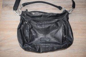 Tasche Liebeskind BiggiB in schwarz mit Staubbeutel mit kurzem Henkel und Schultergurt