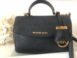 Michael Kors Shoulder Bag black-gold-colored