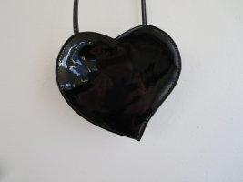 Mini sac noir tissu mixte
