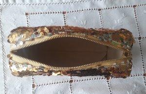deux lux Makeup Bag sand brown mixture fibre