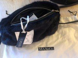 Max & Co. Sac seau bleu foncé
