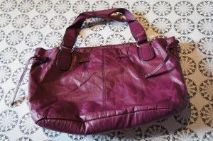 Tasche pflaume lila H&M