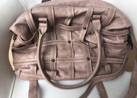 s.Oliver Handbag grey lilac-dusky pink