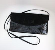 Tasche Schultertasche Clutch Schwarz mit Schleife von Peter Kaiser