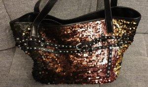 Tasche Shopper mit Pailletten