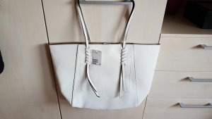 Tasche - Shopper von H&M in weiß 13x22x41 - NEU !