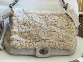 Tasche von Caterina Lucchi mit echtem Lammfell - NEU (Neupreis 289,- €)