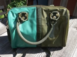 George Gina & Lucy Carry Bag turquoise-green grey
