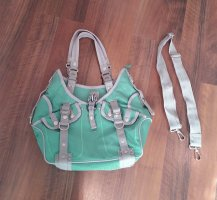 George Gina & Lucy Bolso gris claro-menta