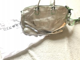 Liebeskind Handbag silver-colored-neon green