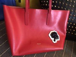 Pollini Torba shopper czerwony