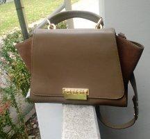 Tasche ZAC POSEN Handtasche grün khaki business büro office designer luxus
