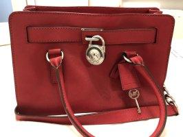 Michael Kors Turn Bag red