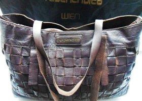 Taschendieb Shopper brun cuir