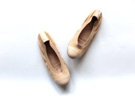 Taupage Ballerinas Gr. 39 rosa nude Wild leder Leder Zalando