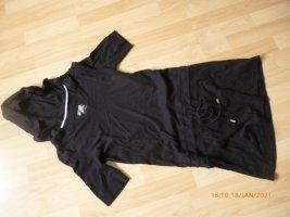 TCM/TCHIBO Kaputzen-Shirt-Kleid gr 36/38 schwarz,wenig angehebt TOP!