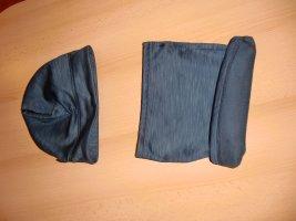 Tchibo / TCM Beanie blue mixture fibre
