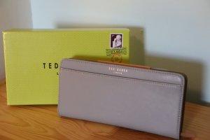 Ted Baker Geldbörse, grau, Textured Zip Around Matinee