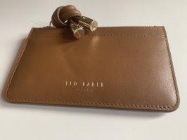 Ted baker Tarjetero color bronce-marrón Cuero
