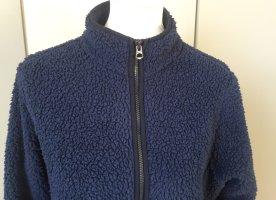 Lands' End Giacca-camicia blu acciaio