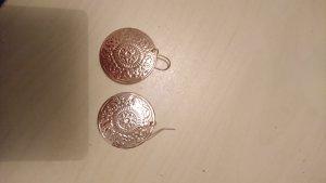 Pendientes colgante color bronce-color rosa dorado