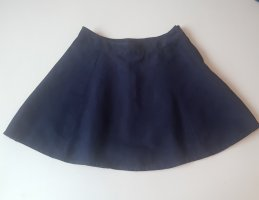 H&M Cirkelrok blauw-donkerblauw
