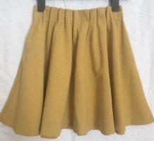 H&M Spódnica z koła złotopomarańczowy