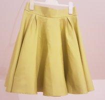 Orsay Falda circular amarillo neón Poliéster