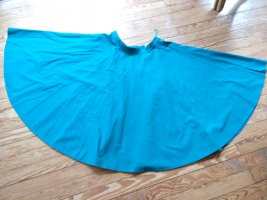 Circle Skirt turquoise cotton